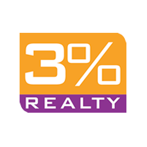 3 Percent Realty Solution Logo