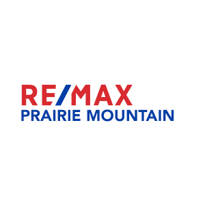 RE/MAX Prairie Mountain Logo